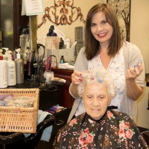Hair Salon at Maranatha Village Retirement Community